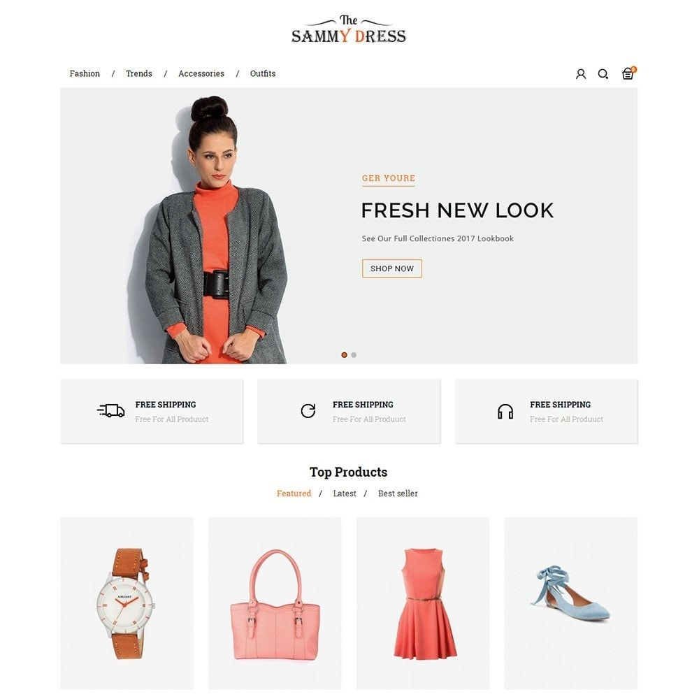theme - Moda & Calzature - The Sammy Dress Store - 2