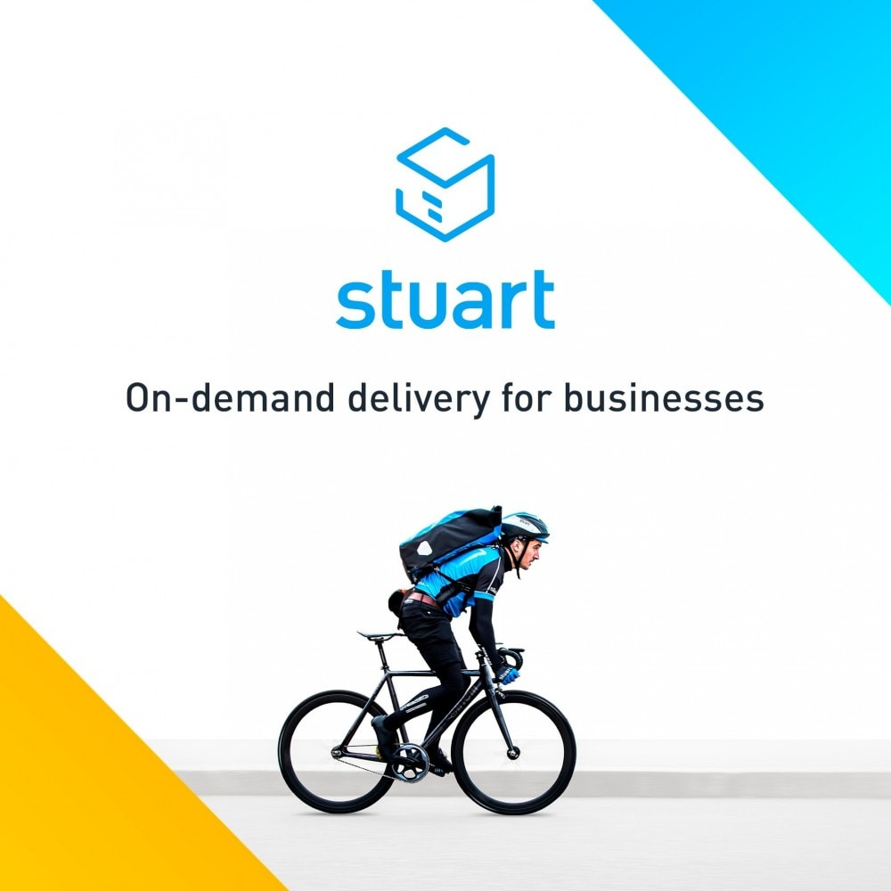 module - Shipping Carriers - Stuart - Delivery 7/7 by bike - 1