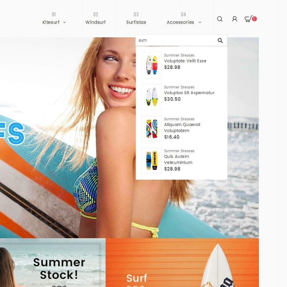 theme - Sports, Activities & Travel - Surf Summer Beach - 9