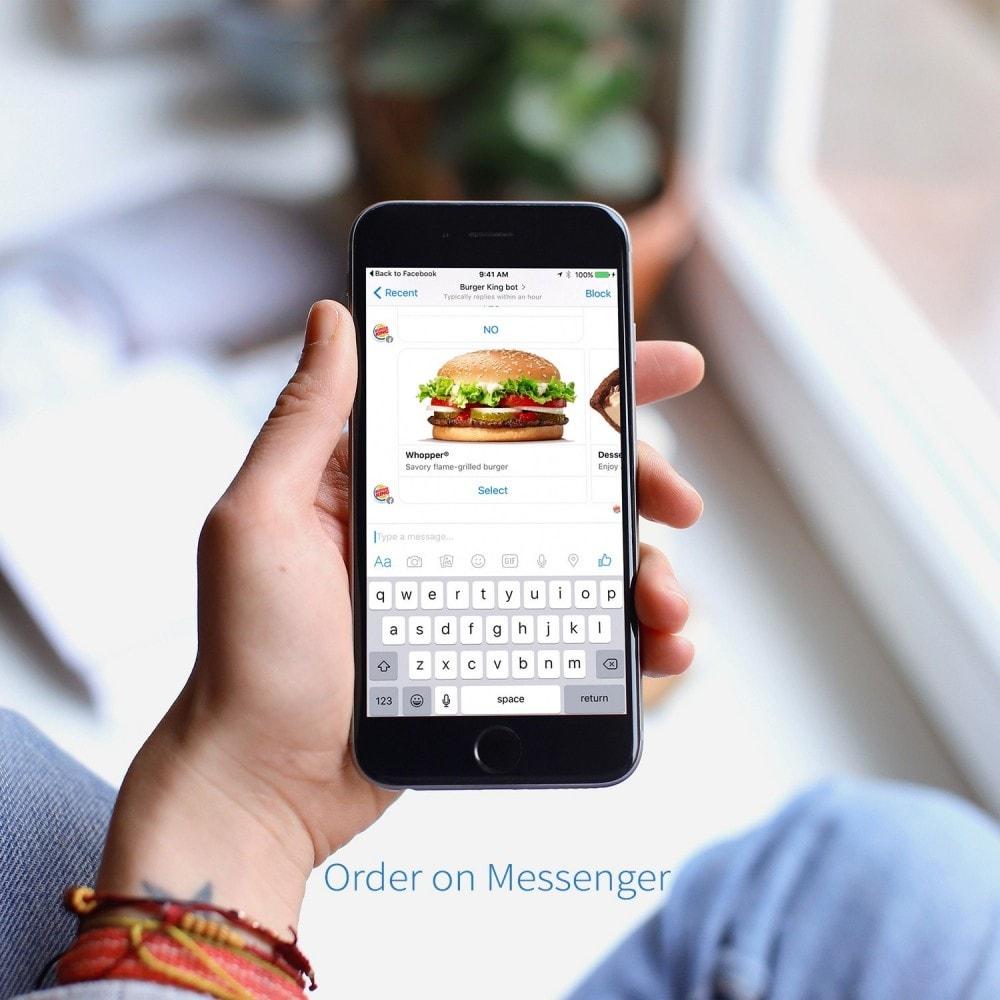 module - Gestion des Commandes - Order on Messenger - 2