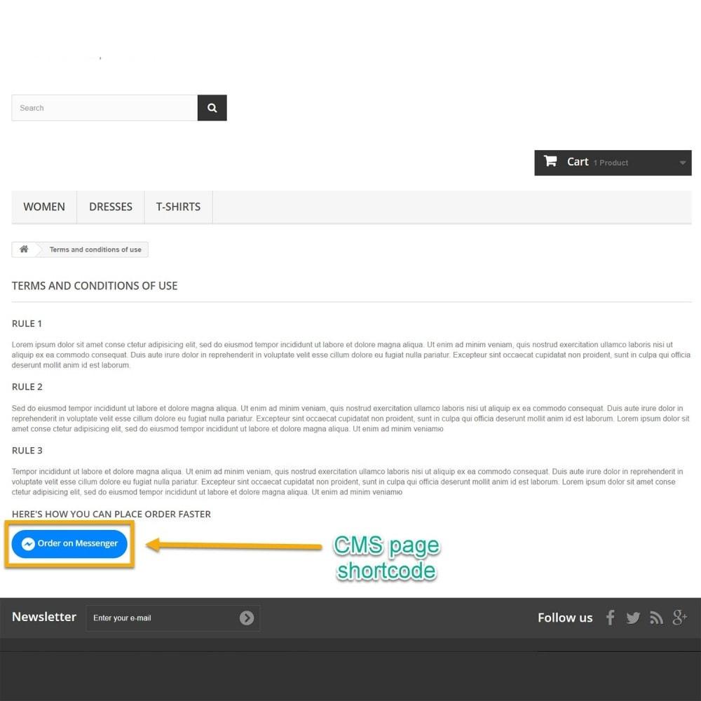 module - Auftragsabwicklung - Bestellen Sie auf Messenger - 10
