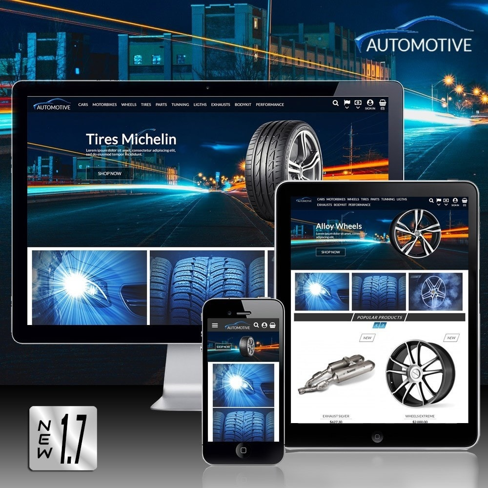 theme - Automotive & Cars - Automotive Store - 1