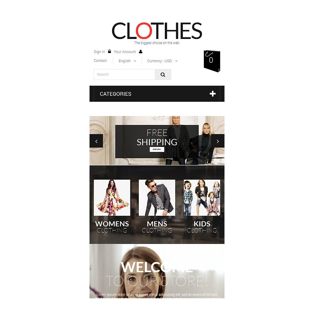theme - Fashion & Shoes - Brand Clothes - 8