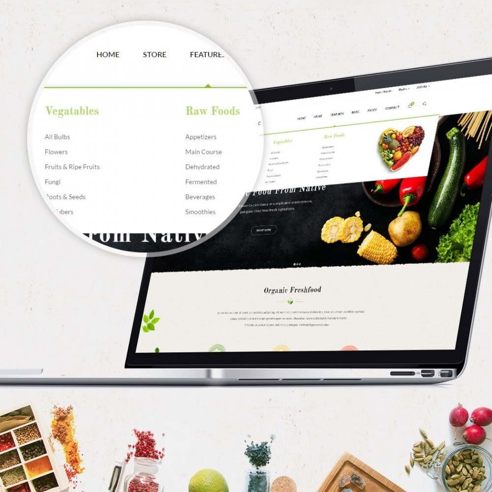 theme - Food & Restaurant - JMS Organic 1.7 - 3
