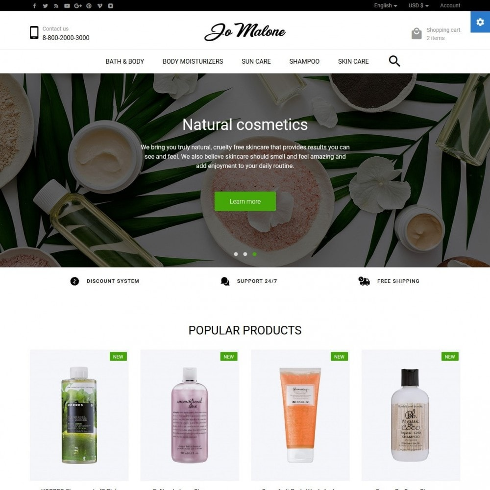 theme - Salud y Belleza - Jo Malone Cosmetics - 2