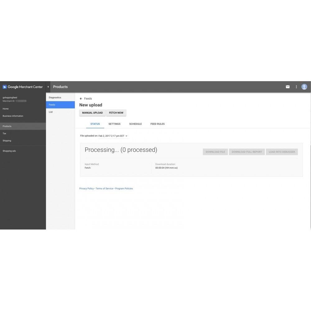 module - Сравнение цен - Google Shopping Feed (for Google Merchant Center) - 9