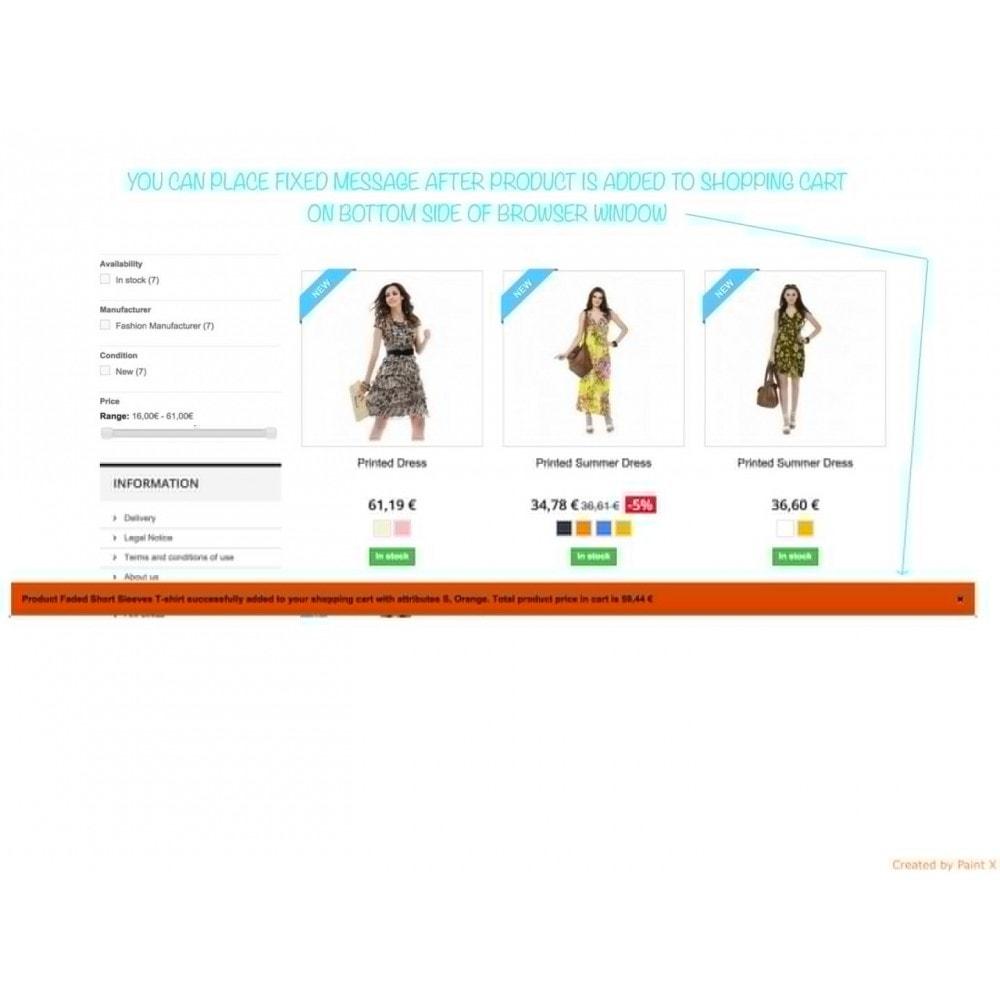 module - Anmeldung und Bestellvorgang - Effekt des Warenflugs, Pop-up zu und andere Animationen - 7