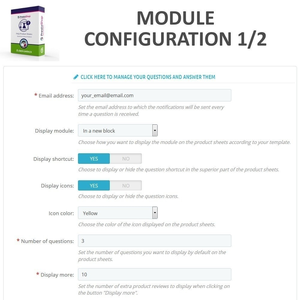 module - FAQ (Häufig gestellte Fragen) - FAQ Produktblätter - Häufig gestellte Fragen - 2