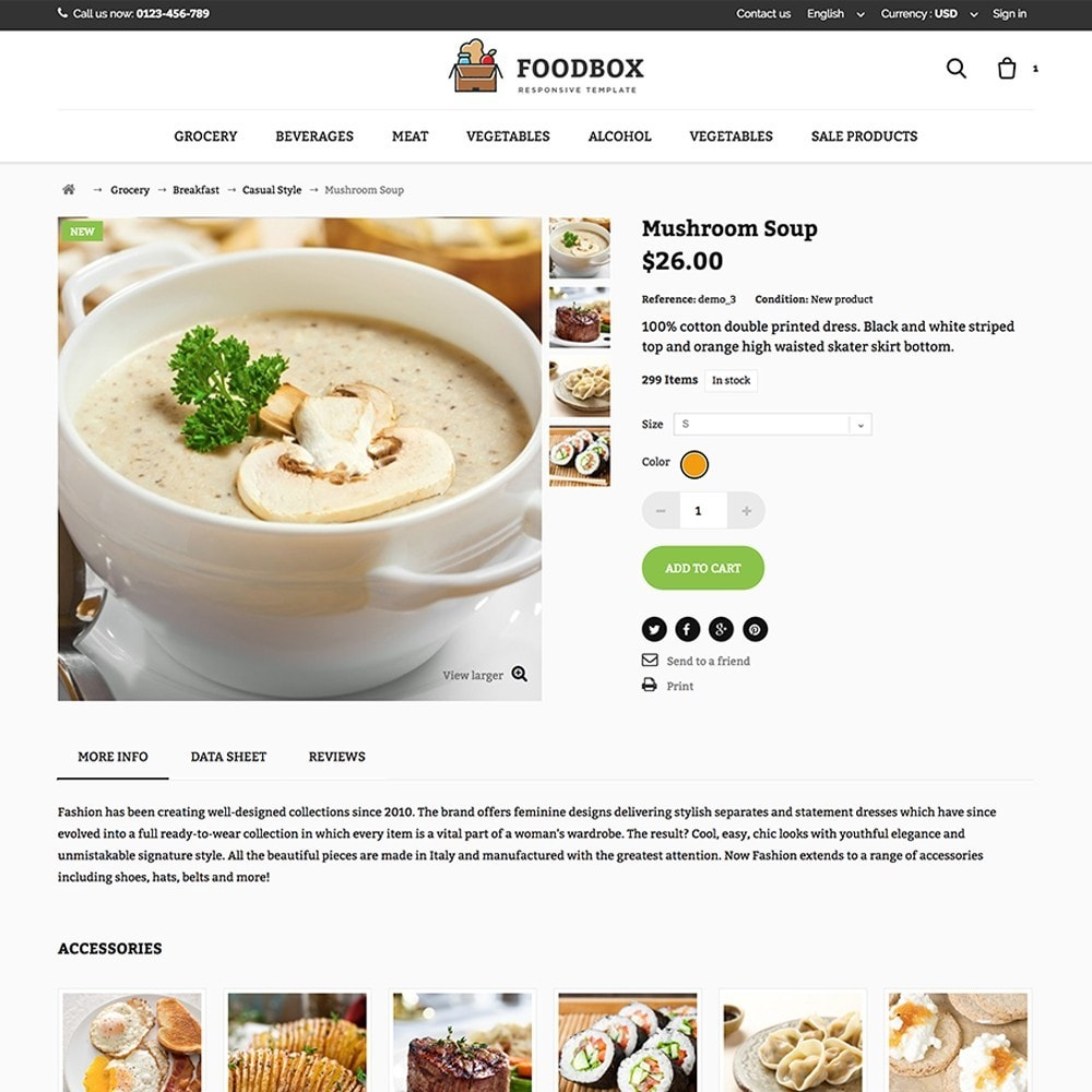 theme - Food & Restaurant - Foodbox - 4