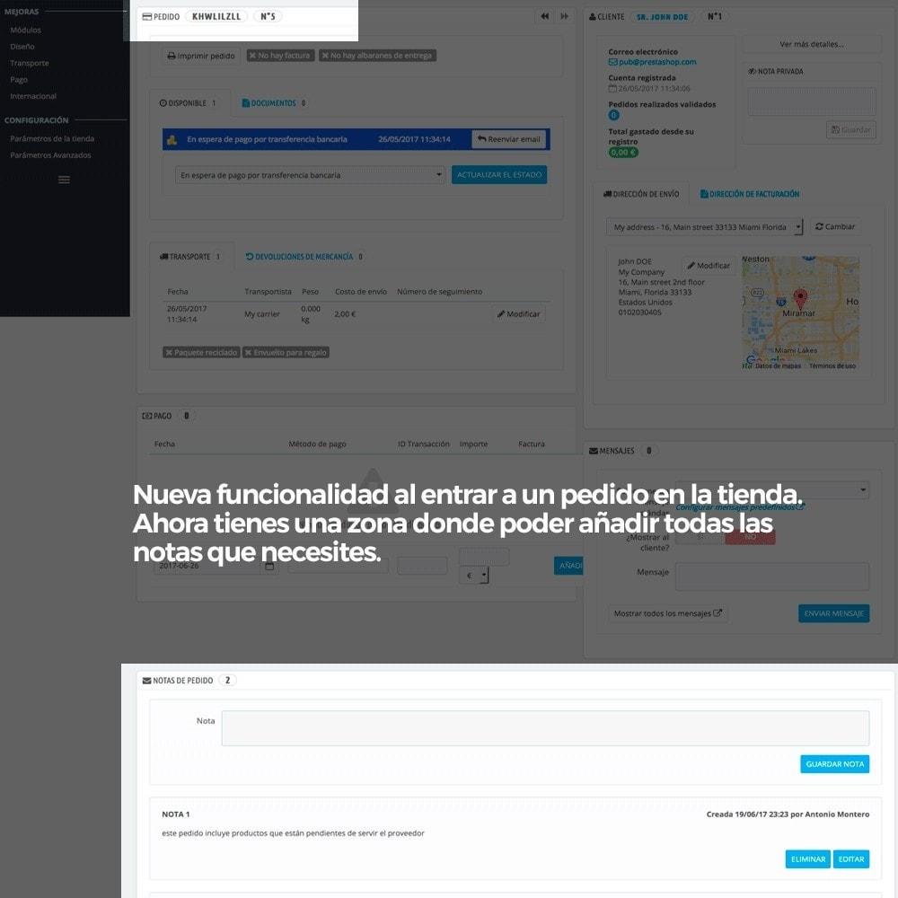 module - Gestión de Pedidos - Notas privadas del administrador en los pedidos - 3