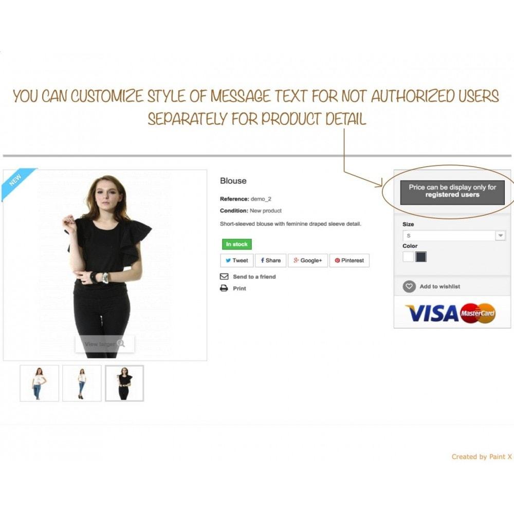 module - Kundenverwaltung - B2B verstecken der Preise für unautorisierte Kunden - 3