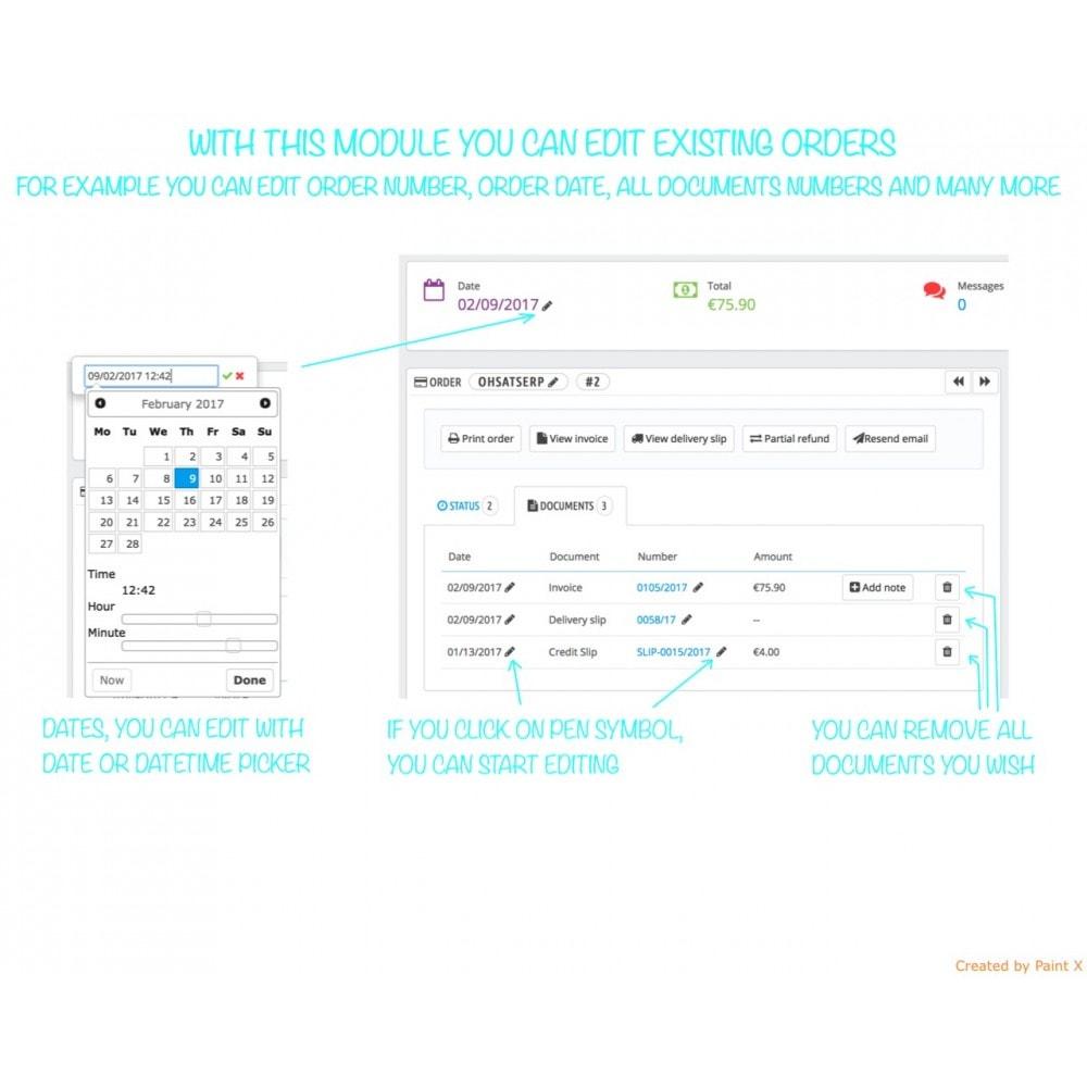 module - Auftragsabwicklung - Profi Managing von Bestellungen und Dokumenten Nr. - 1