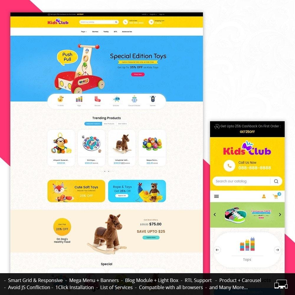 theme - Niños y Juguetes - Kids Toy Club - 1