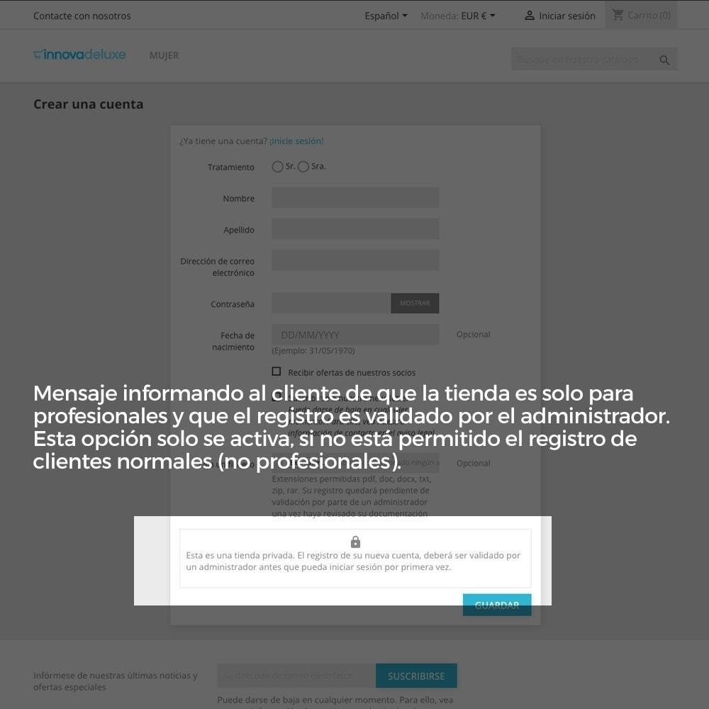 module - B2B - Registro de clientes validado por el administrador - 11