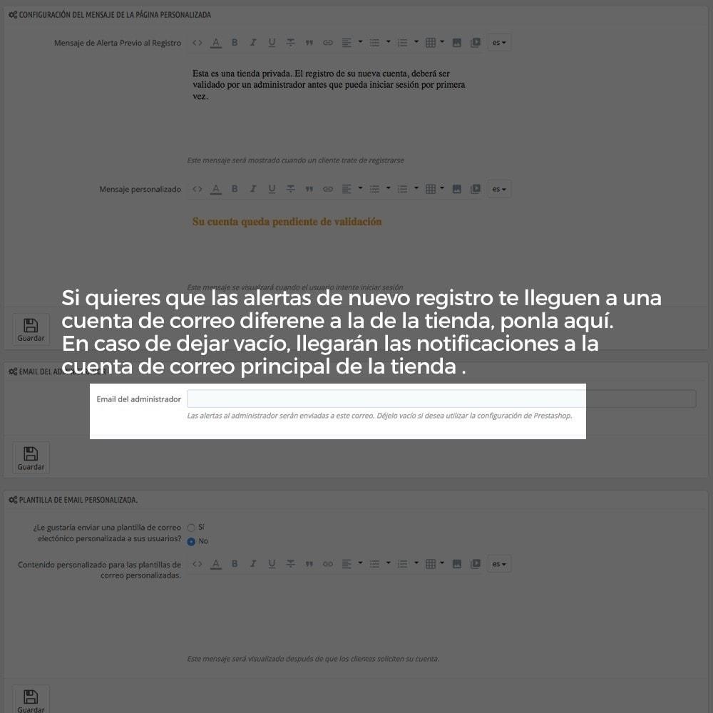 module - B2B - Registro de clientes validado por el administrador - 14