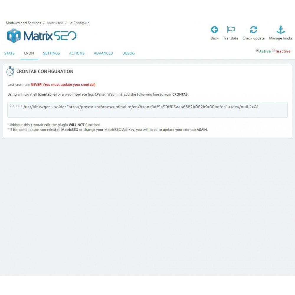 module - SEO (Pozycjonowanie naturalne) - Matrix SEO - 5
