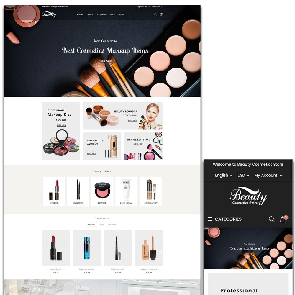 theme - Salute & Bellezza - Beauty Cosmetics Store - 1