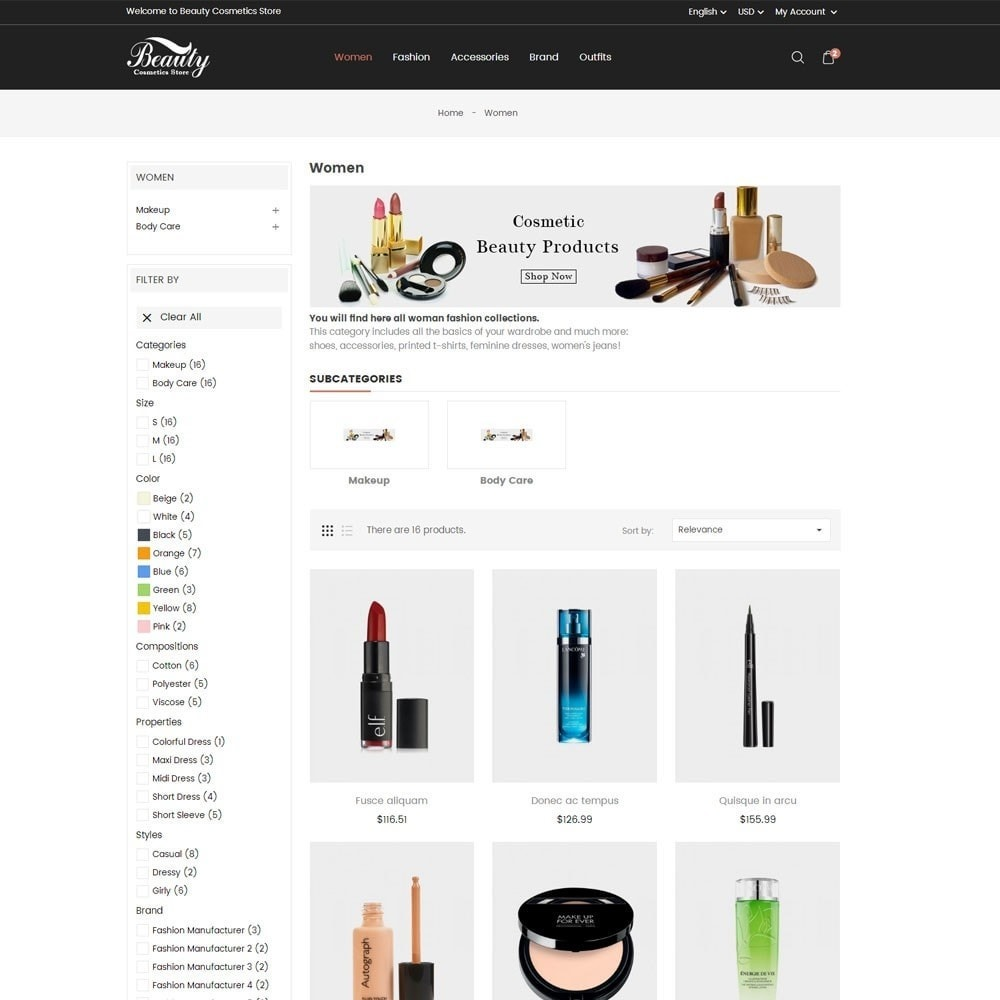 theme - Health & Beauty - Beauty Cosmetics Store - 5