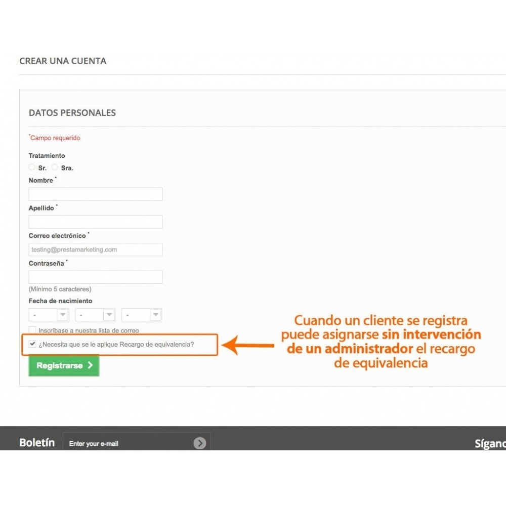 module - Contabilidad y Facturas - Gestor de recargo de equivalencia - 3