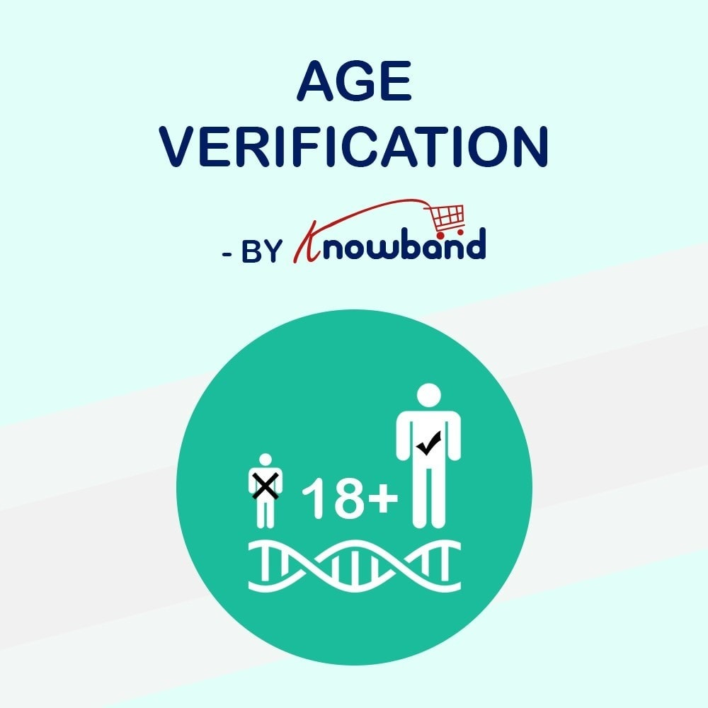 module - Security & Access - Knowband - Age Verification Popup | 18+ Verification - 1