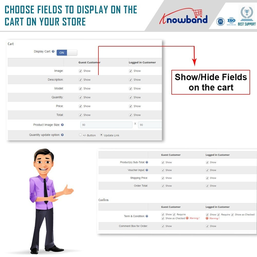 module - Express Checkout Process - Knowband - One Page Checkout, Social Login & Mailchimp - 19