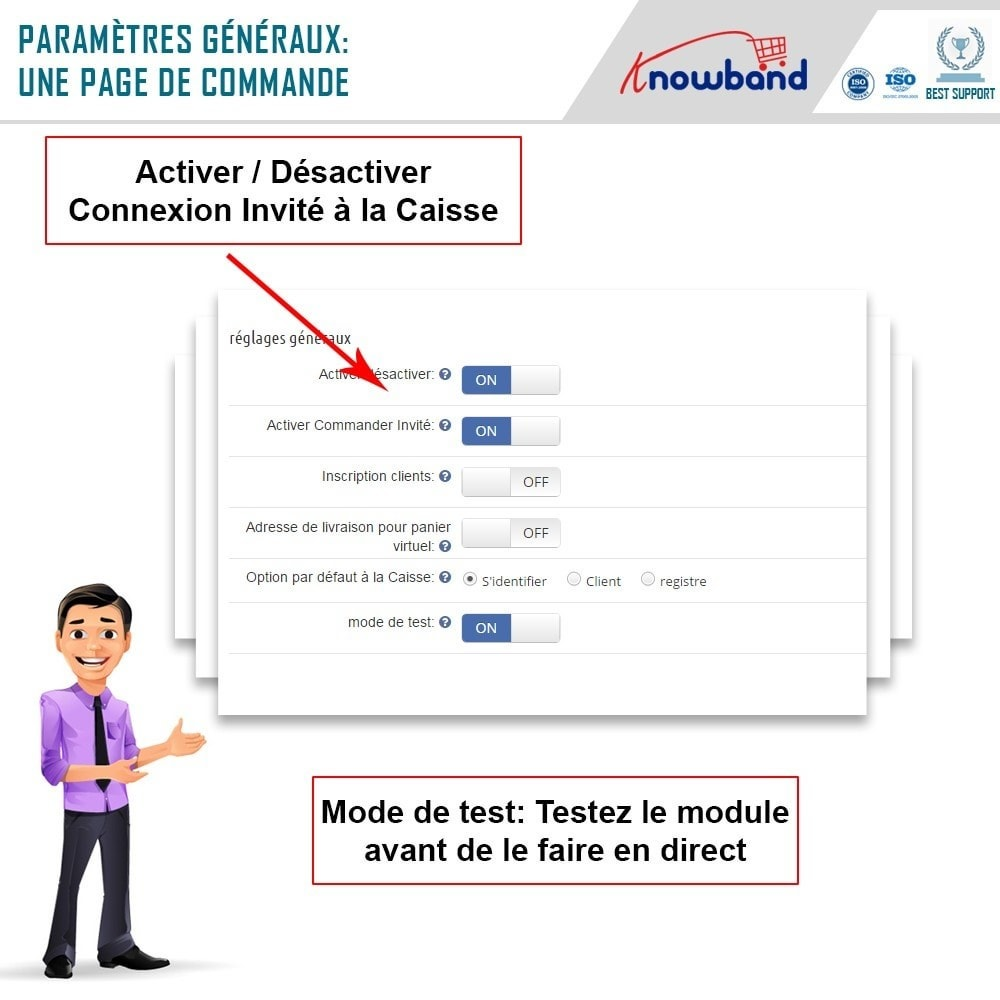 module - Processus rapide de commande - One Page Checkout, Social Login & Mailchimp - 13