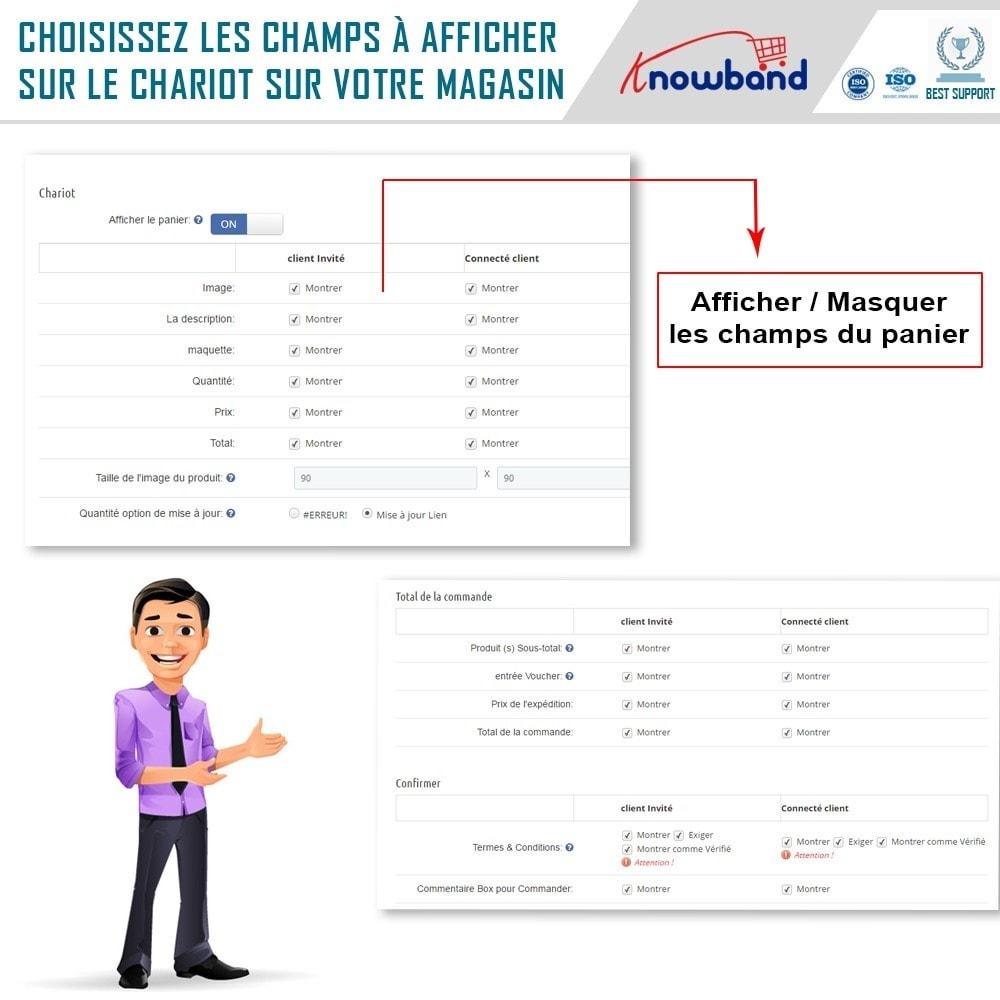 module - Processus rapide de commande - One Page Checkout, Social Login & Mailchimp - 19