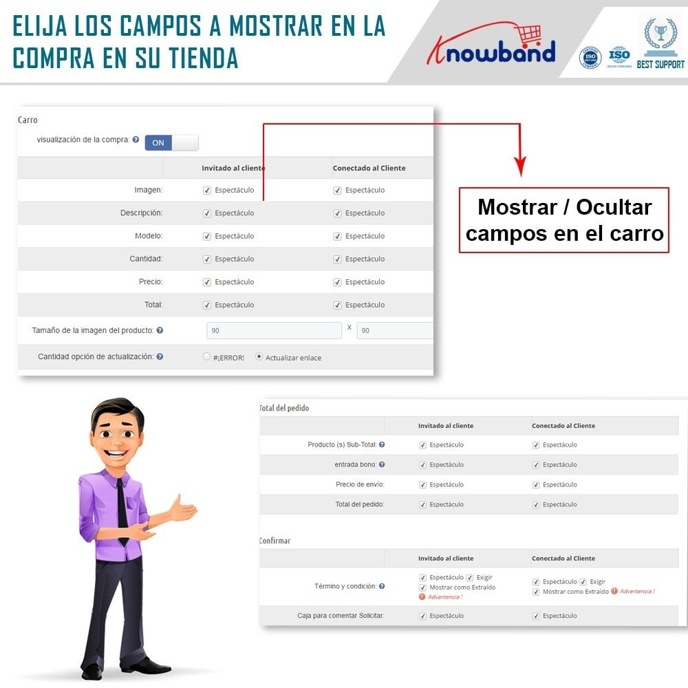 module - Proceso rápido de compra - Knowband - One Page Checkout, Social Login & Mailchimp - 19