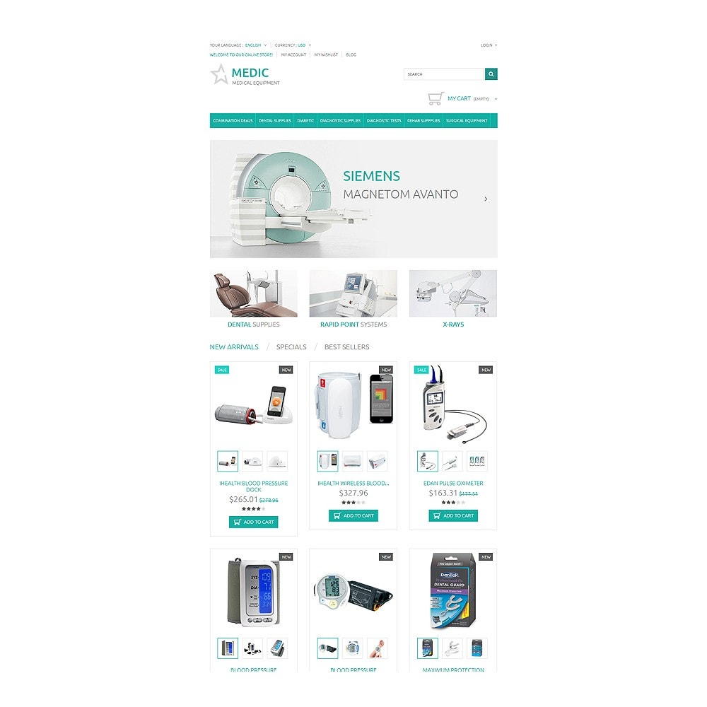 theme - Salud y Belleza - Medical Equipment - 7