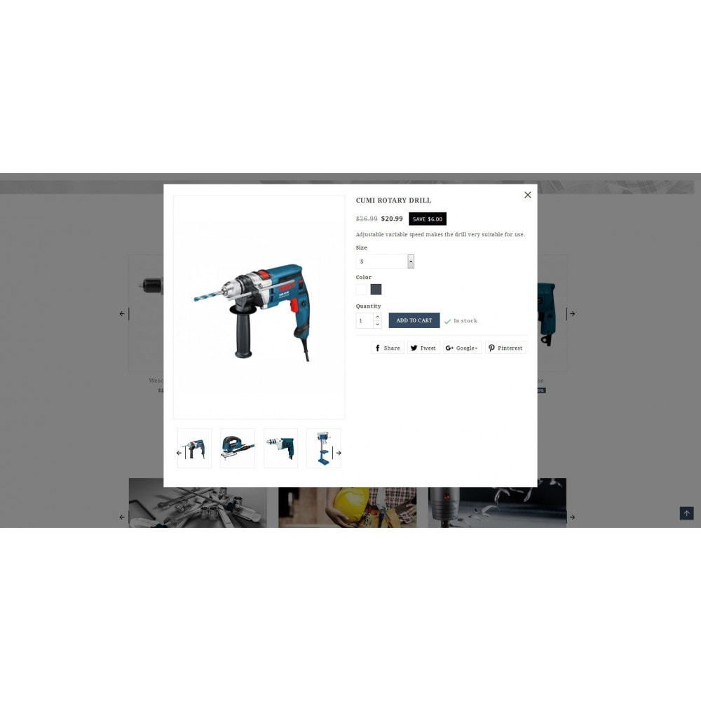 theme - Automotive & Cars - Ratro - Tools shop - 6