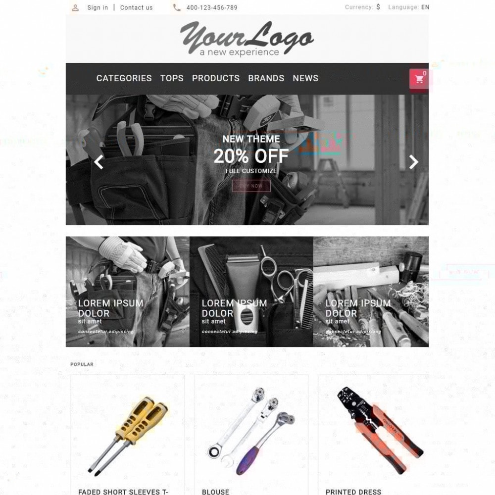 theme - Auto's & Motoren - UP Tools Store - 7