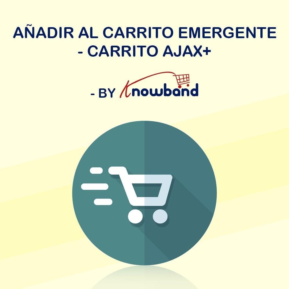 module - Pop-in y Pop-up - Knowband - Añadir al carrito Emergente - Carrito Ajax+ - 1