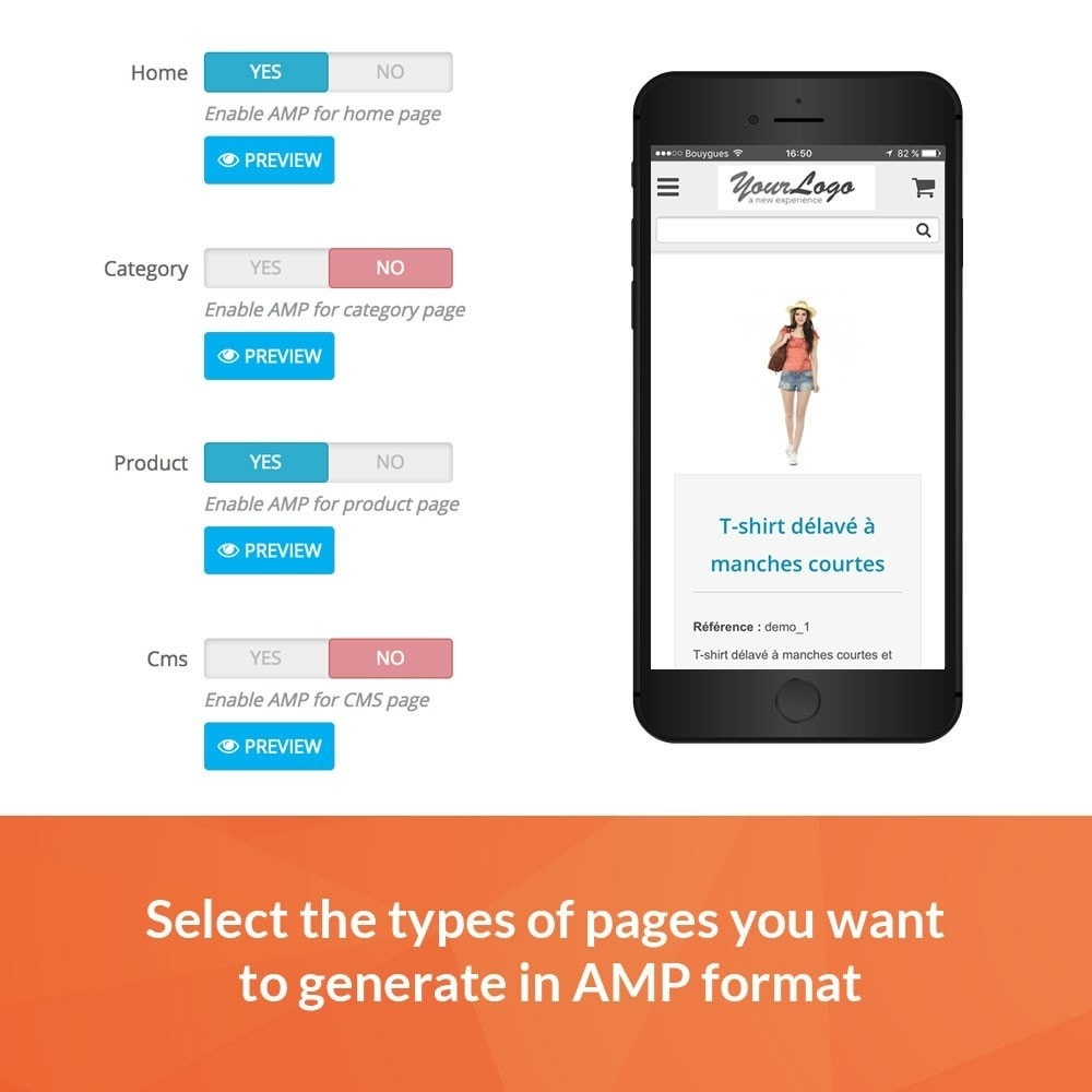 module - Performance - Accelerated Mobile Pages (AMP) PRO - 2