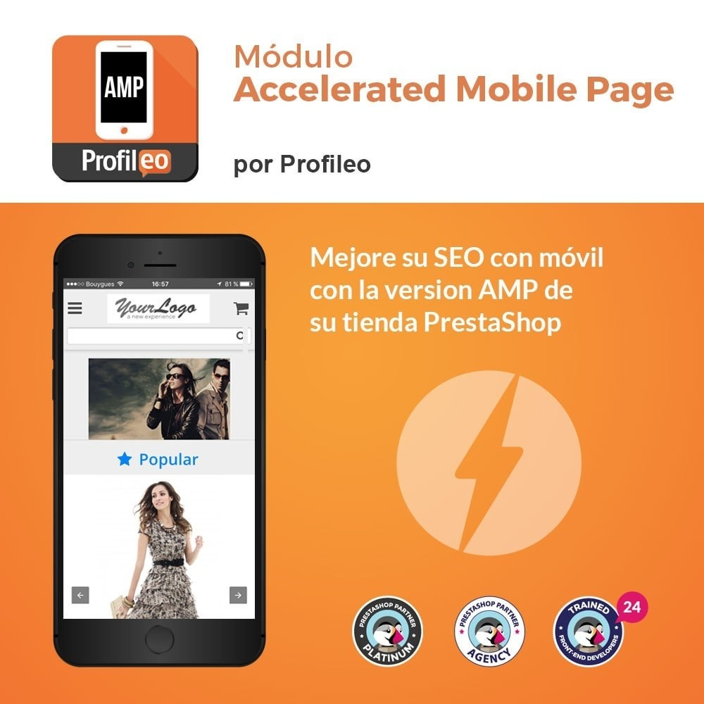 module - Rendimiento del sitio web - Accelerated Mobile Pages (AMP) PRO - 1