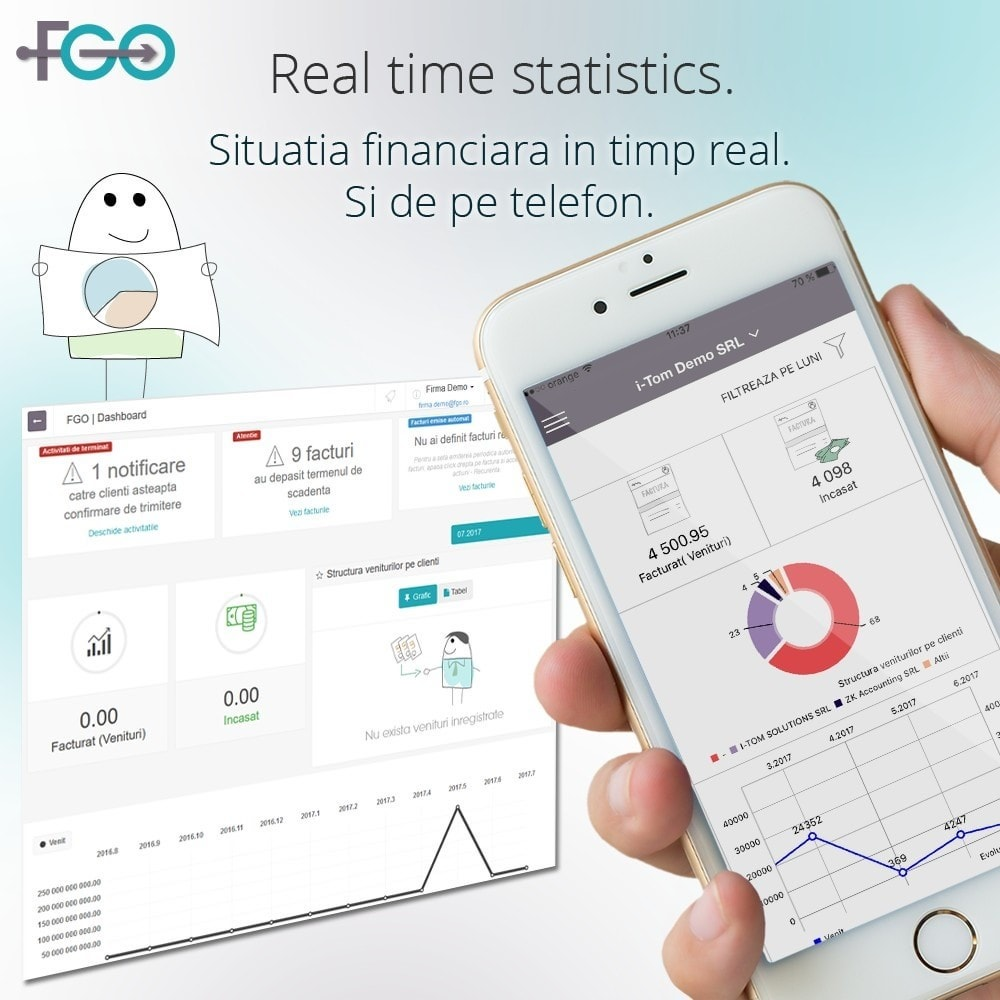 module - Buchhaltung & Rechnung - FGO Premium – Billing Module – Facturare Magazin Online - 2