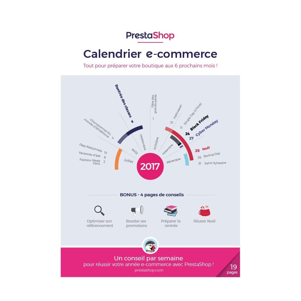 other - Calendrier e-Commerce - Guide et Calendrier e-commerce 2017 de fin d'année - 1