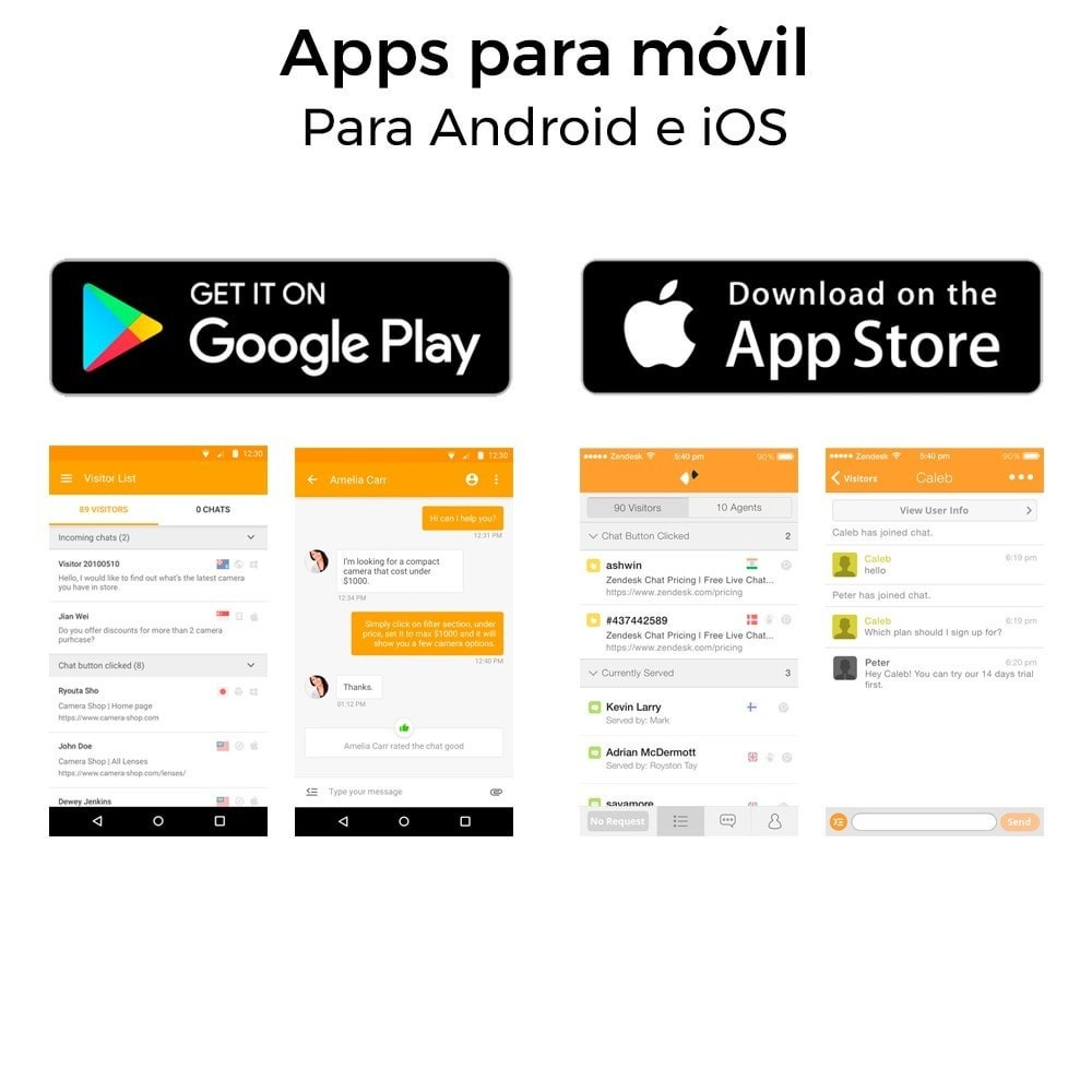 module - Asistencia & Chat online - Chat para Zendesk (Zopim) - Multiidioma, personalizable - 7