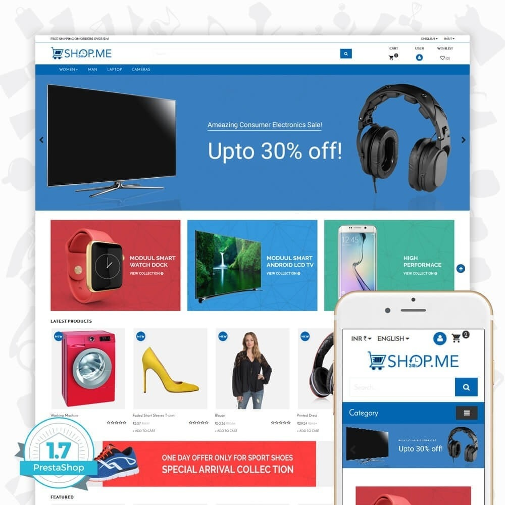 theme - Electronics & Computers - Shopme Electronics Store - 1