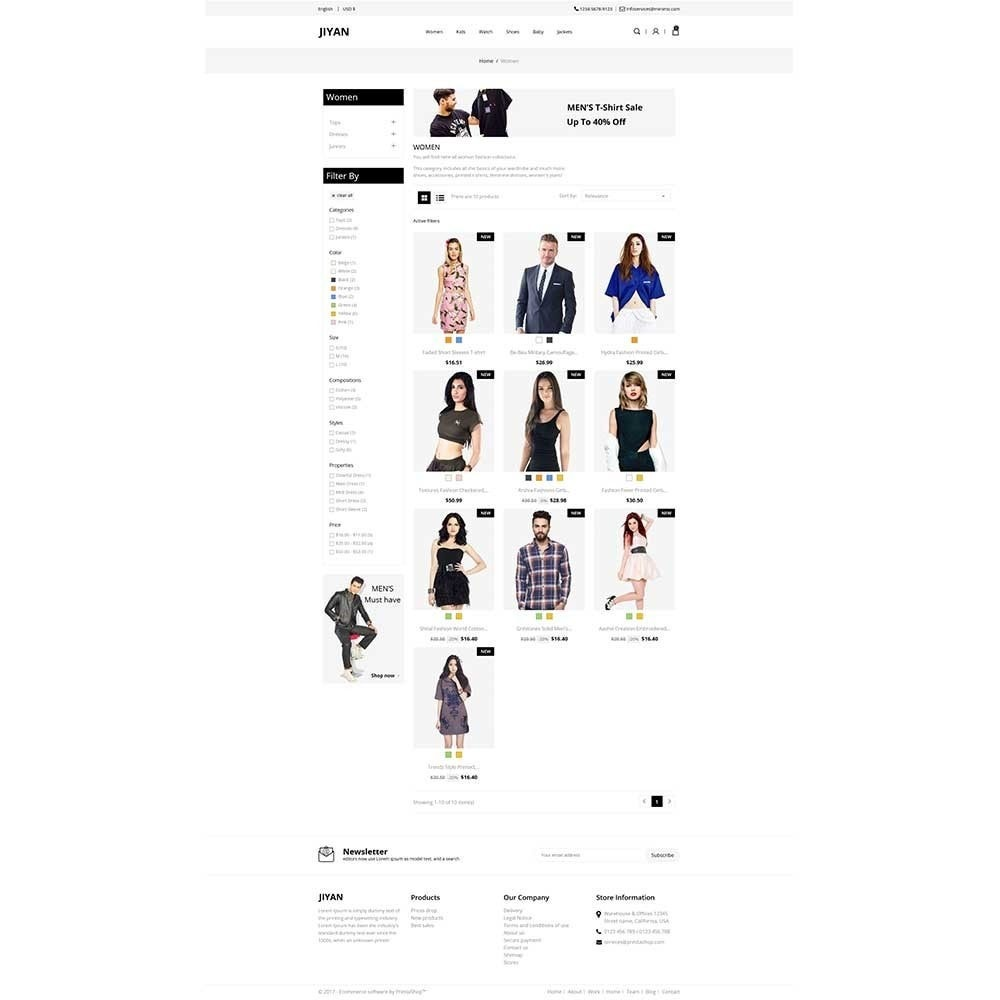 theme - Mode & Schoenen - Jiyan - Fashion Store - 2