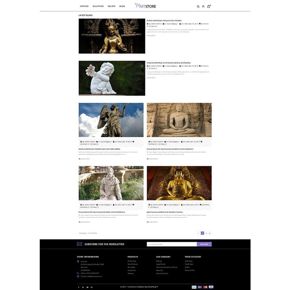theme - Arte e Cultura - Art Store - 8