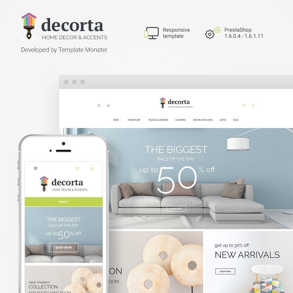 theme - Home & Garden - Decorta PrestaShop Theme - 1