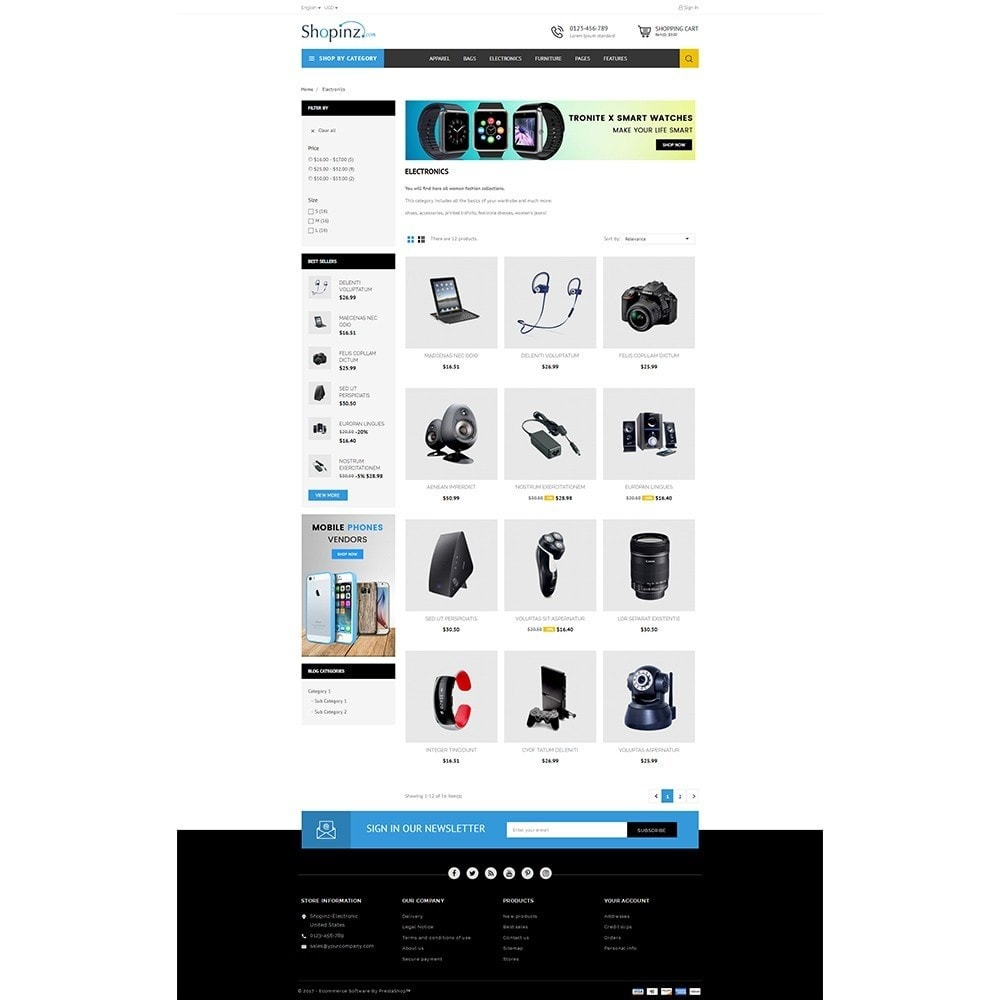 theme - Elettronica & High Tech - Electronic Store - 3