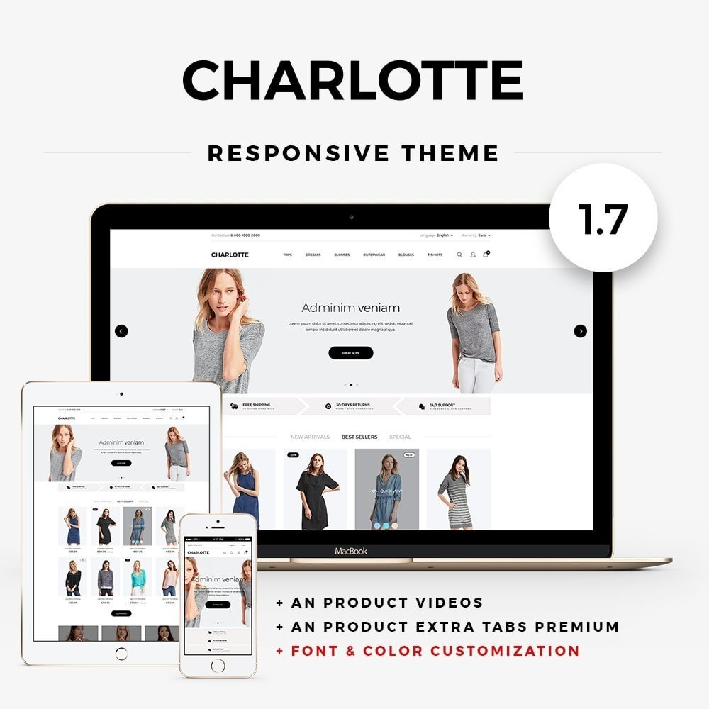theme - Moda & Calzature - Charlotte Fashion Store - 1