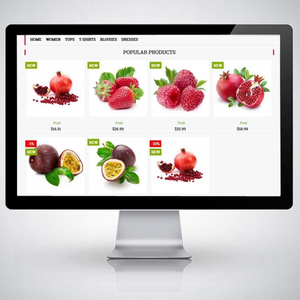 theme - Alimentation & Restauration - FruitsWeb - 2