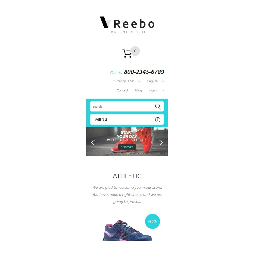 theme - Mode & Chaussures - Reebo - 9