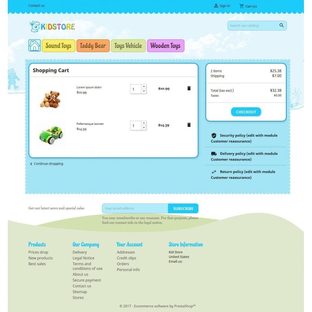theme - Дети и Игрушки - Kidstore 4 - 4