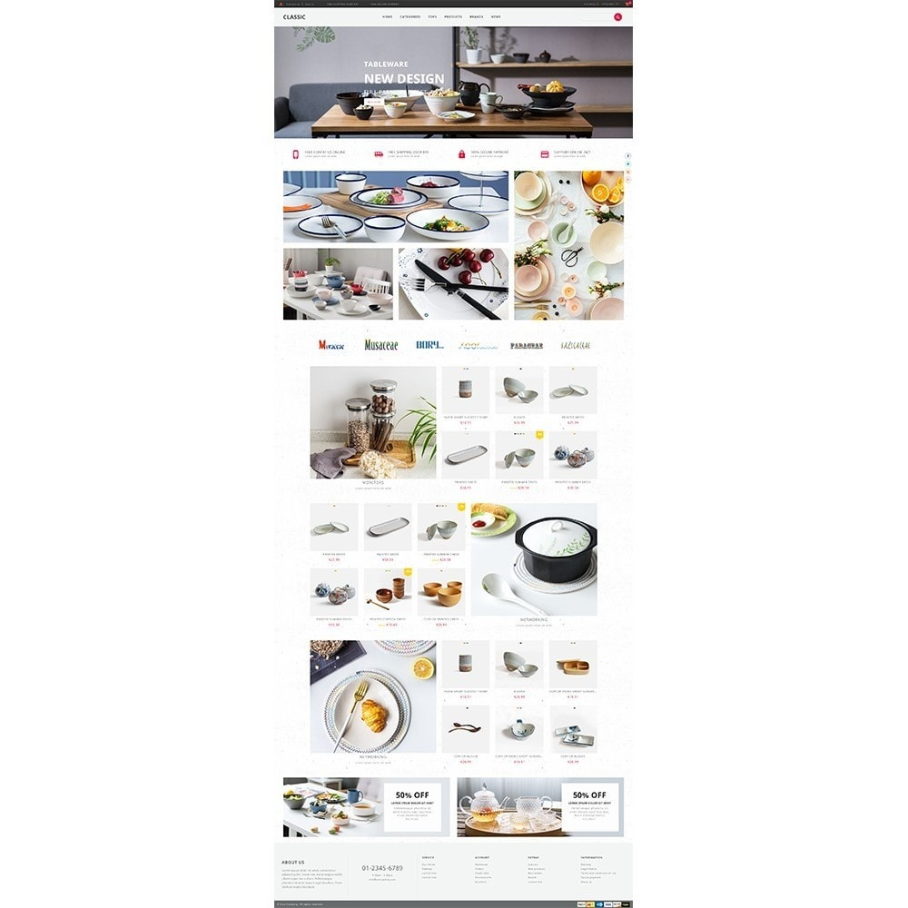 theme - Дом и сад - UP Tableware Store - 2