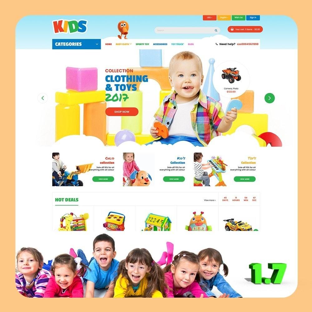 theme - Crianças & Brinquedos - Kids Store - 1