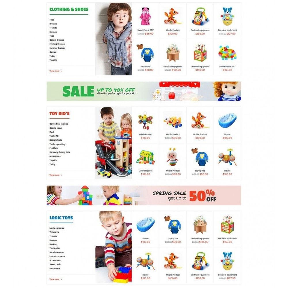 theme - Crianças & Brinquedos - Kids Store - 3