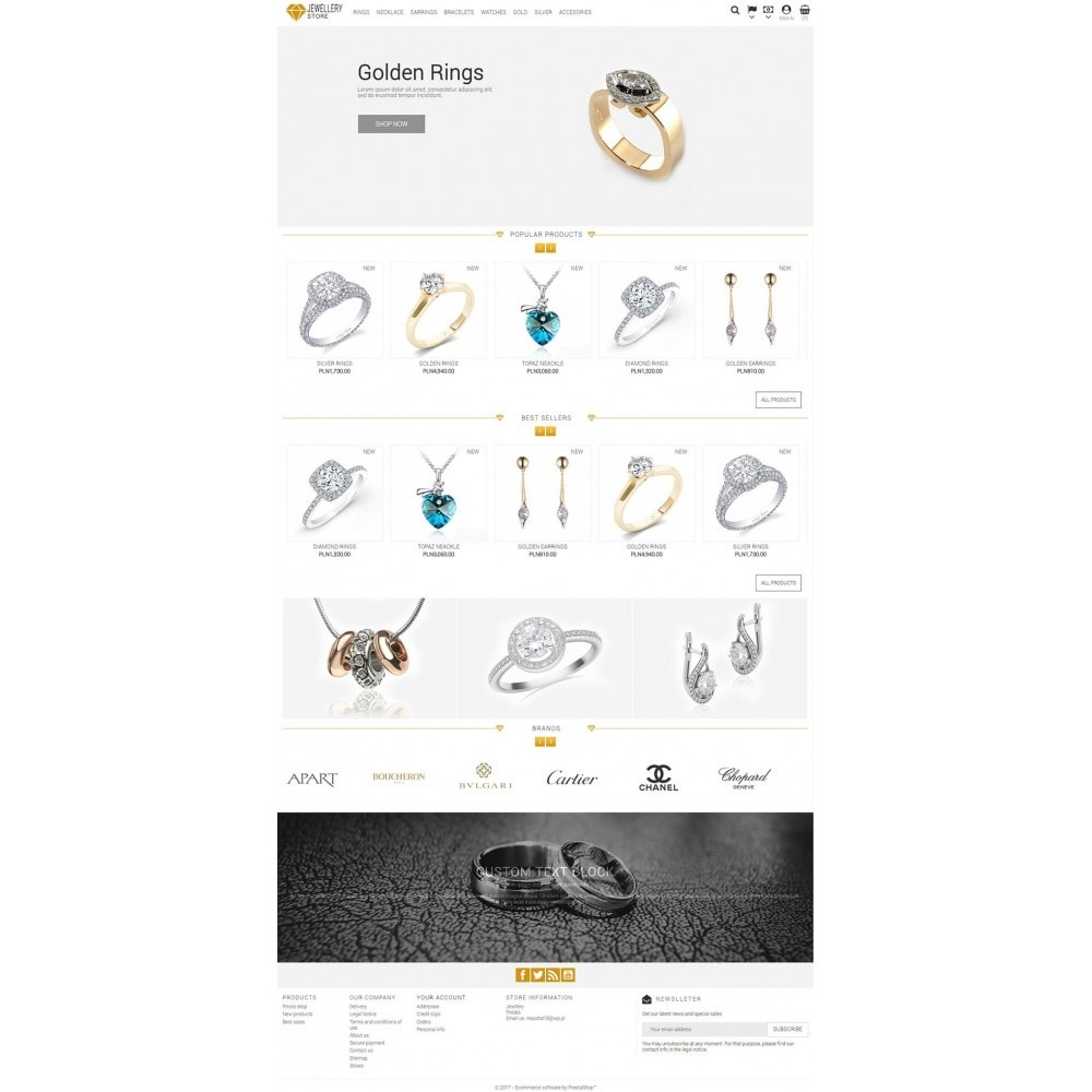 theme - Bellezza & Gioielli - Jewellery Store - 2
